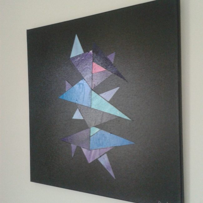 Abstract Cubic painting