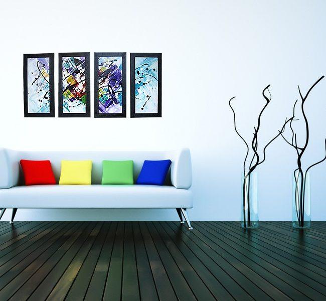 Lilled-tableau-moderne