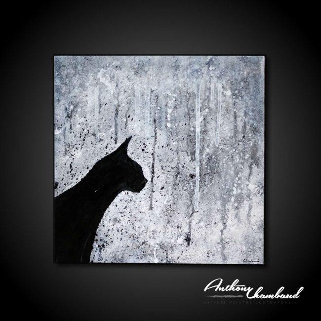 tableau-chat-noir-et-blanc