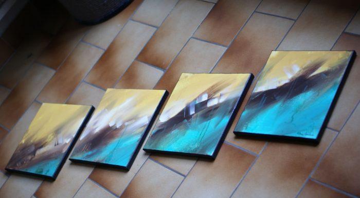 tableau-turquoise-jaune