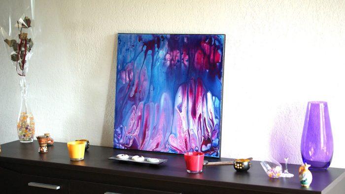 tableau design violet