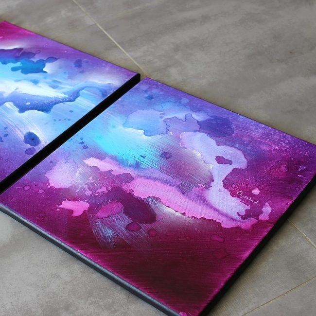 Tableau violet Toerana