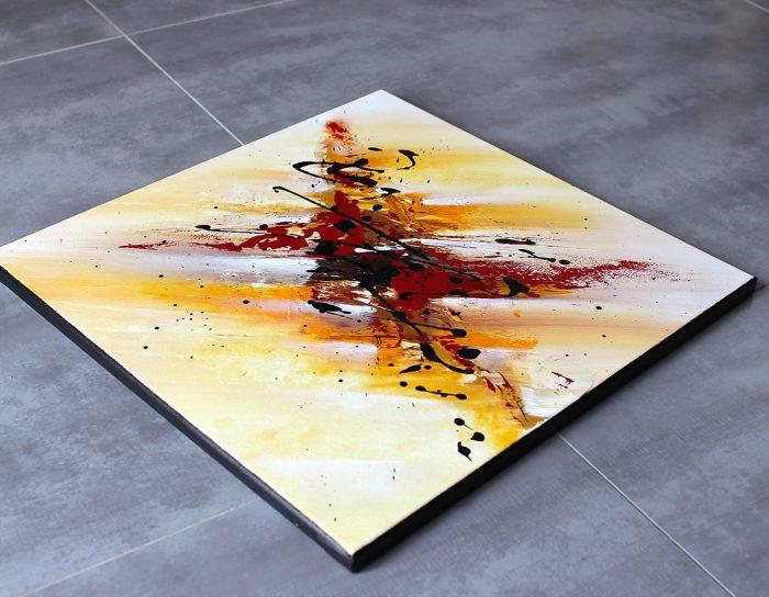 Tableau abstrait unique