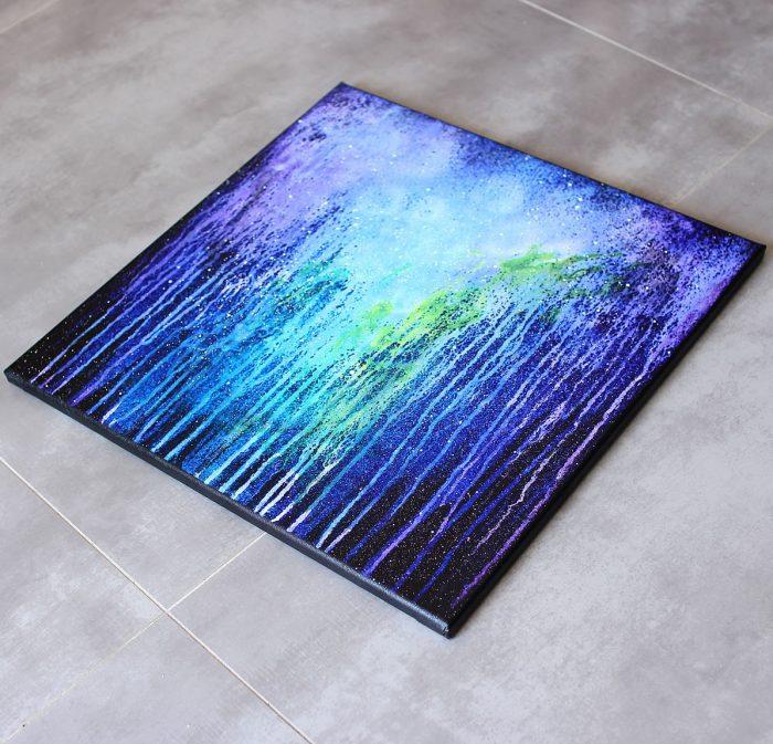 Tableau violet moderne