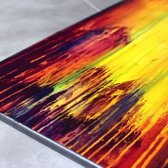 Tableau multicolore Vatra