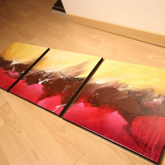 Tableau rouge Kirglik 3
