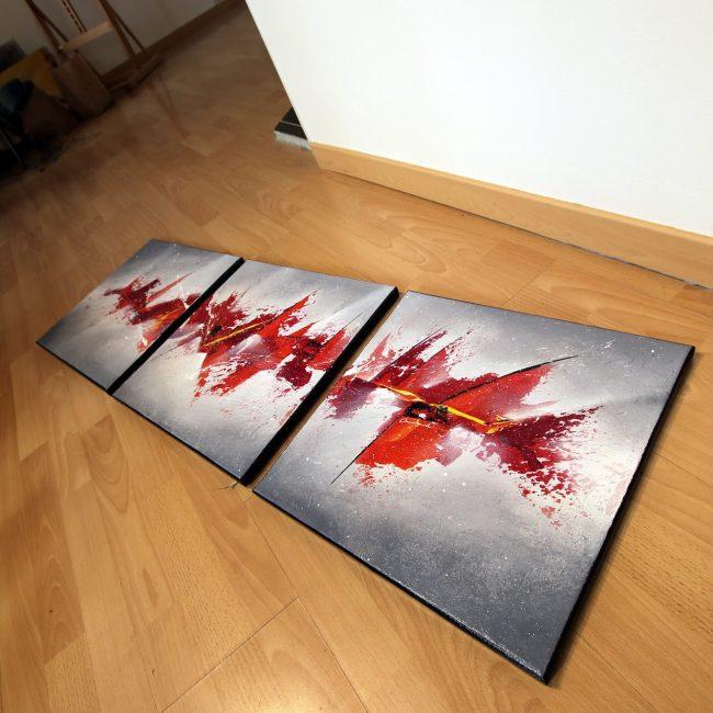 Tableau rouge Moegelick