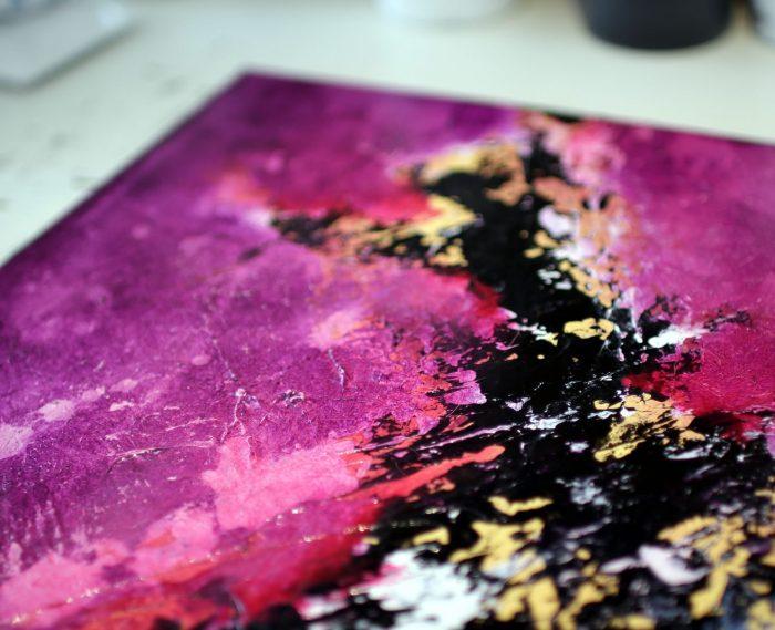Tableau violet Sakura