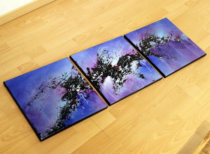 Tableau bleu & Violet Torekkingu