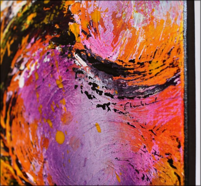 Peinture abstraite Gaikoku