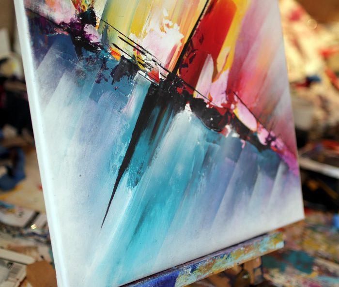 Peinture abstraite Shinchō