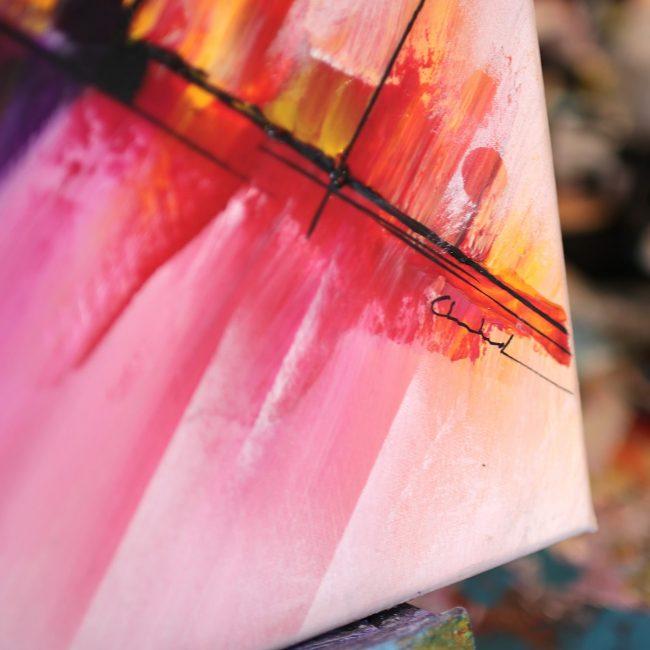 Peinture abstraite Shinchō 2