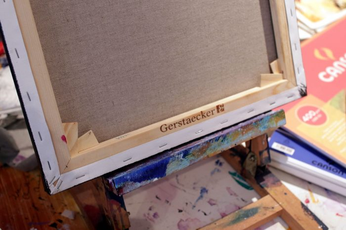 Peinture abstraite Gaikoku 2