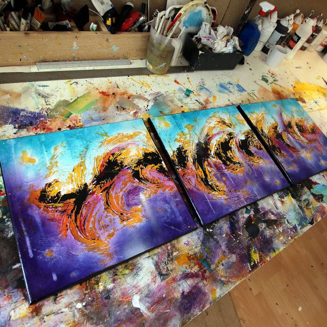 Peinture Abstraite Seikashi 4