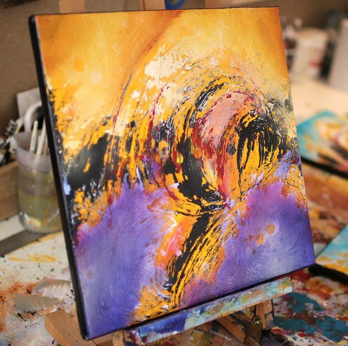 Peinture asbtraite Kasaio