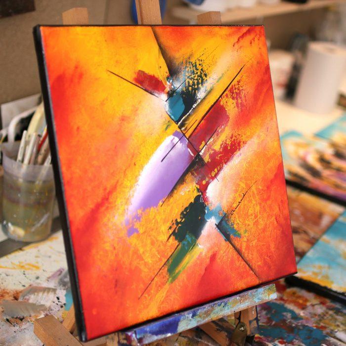 Peinture rouge Kibunara
