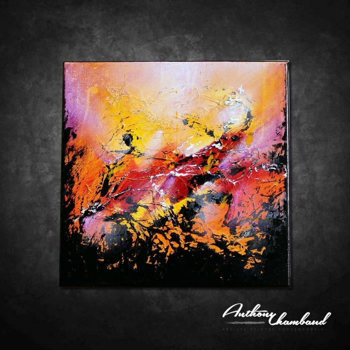 Peinture abstraite Kakusam