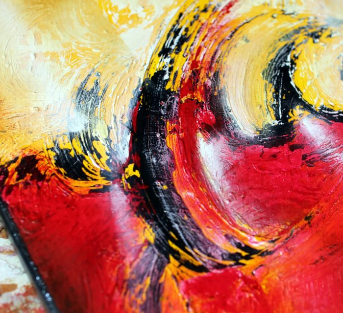 Tableau rouge Seishino