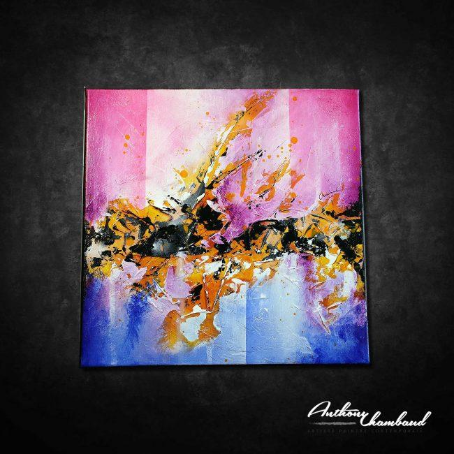 Peinture abstraite Yumaaji