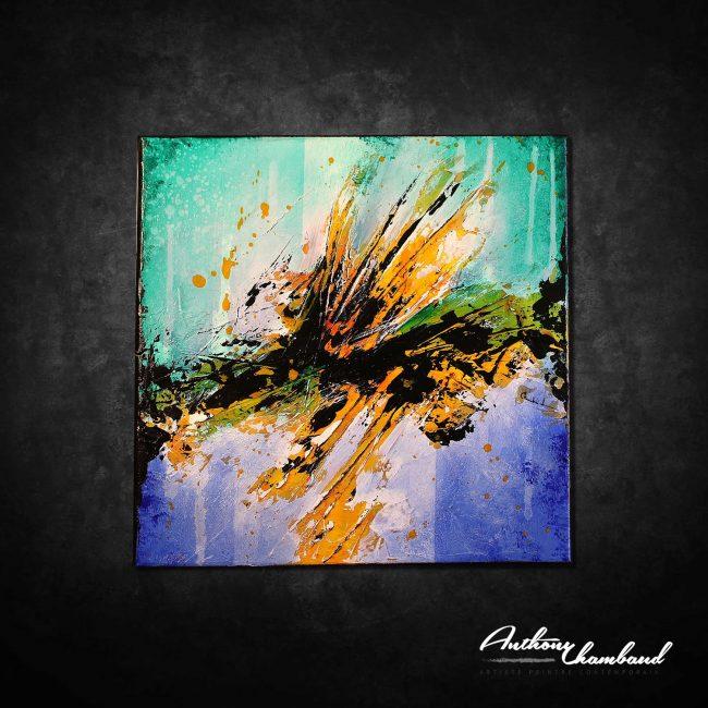 Peinture abstraite Shizem