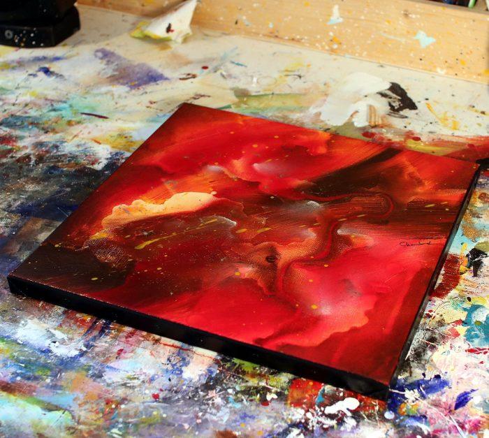 Tableau rouge Kazanïo 2