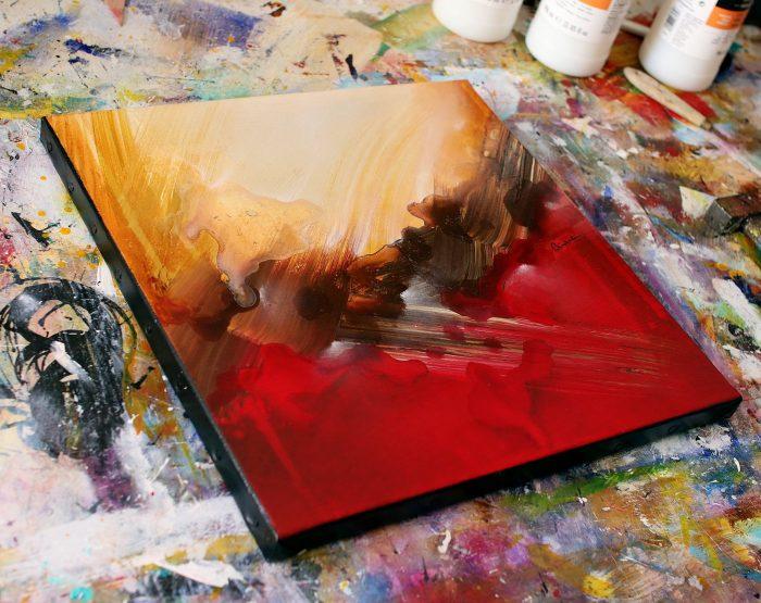 Tableau rouge Nozohisghi