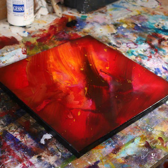 Tableau rouge Kazanïo 3