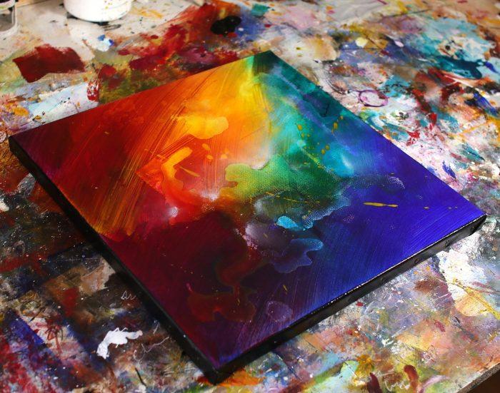 Tableau coloré Shierumi
