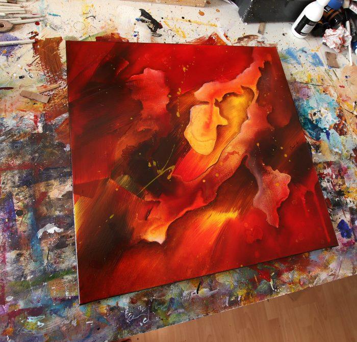 Tableau rouge Kazanïo 4