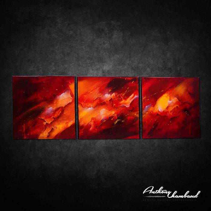 Triptyque rouge Kazanïo 5