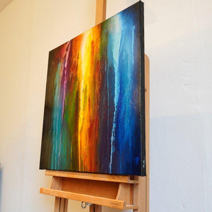 Peinture abstraite Kiokur 2