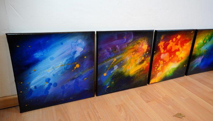 Peinture moderne Ishiva