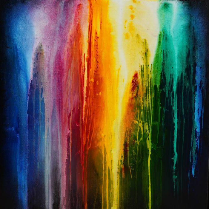 Peinture abstraite Kiokur 3