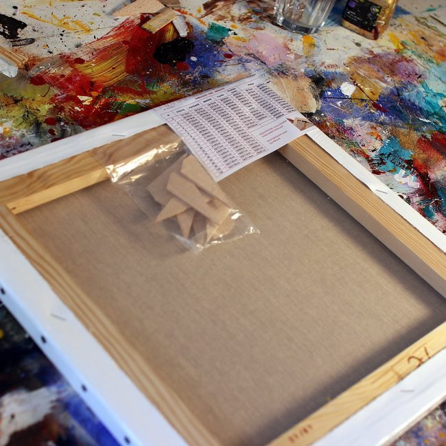 Peinture abstraite Astraus