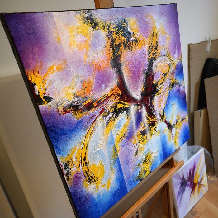 Peinture abstraite Astraus 2